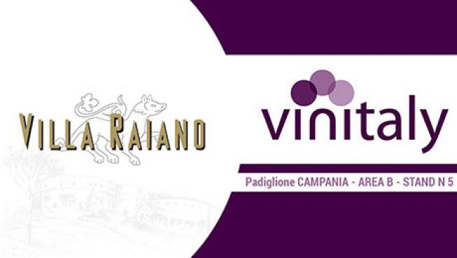 Villa Raiano partecipa al Vinitaly 2017